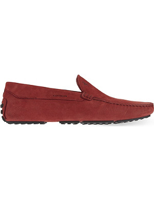TODS Tyre sole plain driving shoes