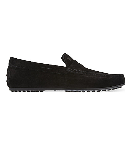 TODS Penny City driving shoes (Black