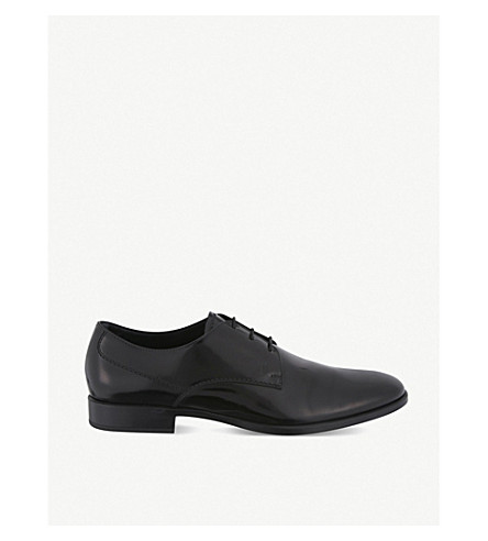 TODS Leather derby shoes (Black