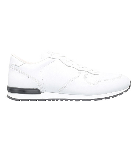 TODS Leather trainers (White