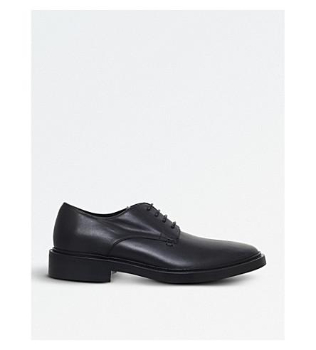 BALENCIAGA Chelsea leather brogues (Black