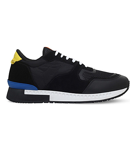 GIVENCHY Active suede runner trainers (Black