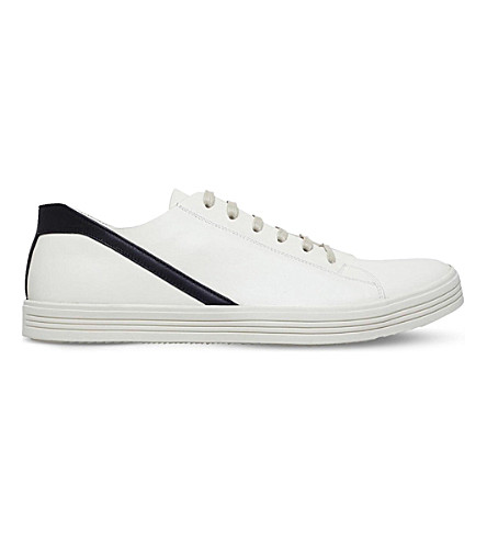 RICK OWENS Geothrasher leather trainers