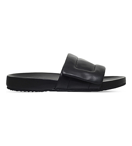MAISON MARGIELA Future pool sliders (Black