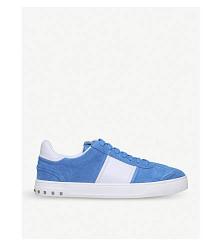 VALENTINO Fly Crew suede trainers (Blue