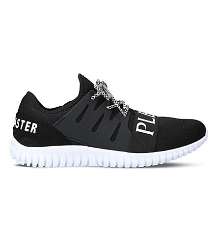 PHILIPP PLEIN Runner mesh trainers (Black