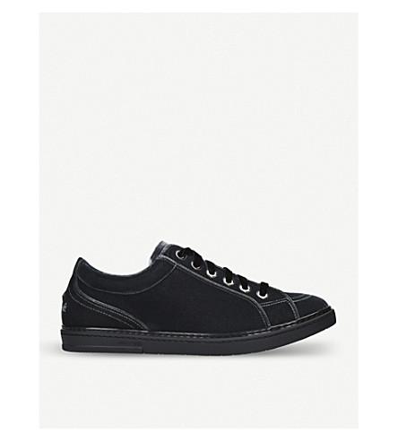 JIMMY CHOO Cash velvet trainers (Grey