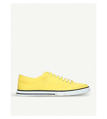 BALENCIAGA Match canvas trainers (Yellow
