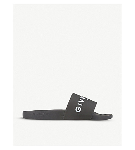 GIVENCHY Logo sliders (Black