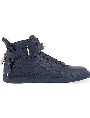 BUSCEMI Clasp mid-top trainers