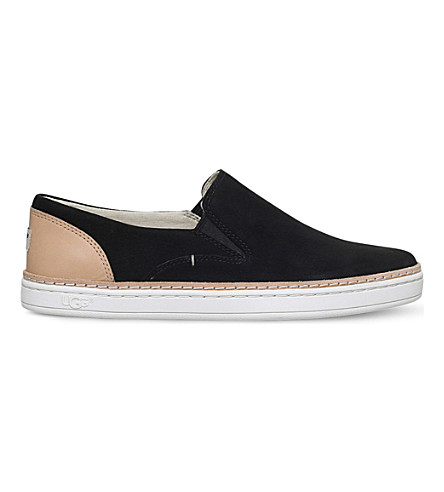 UGG Adley slip on flats (Black