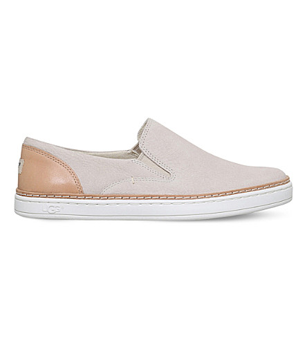 UGG Adley slip on flats (Winter+wht