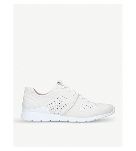 UGG Tye low-top leather trainers (White