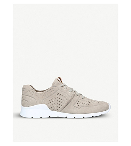 UGG Tye leather trainers (Grey/light