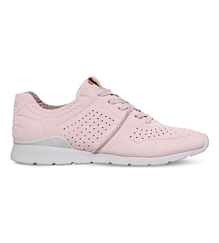 UGG Tye leather trainers (Pale+pink