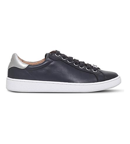 UGG米洛皮革运动鞋 (黑色