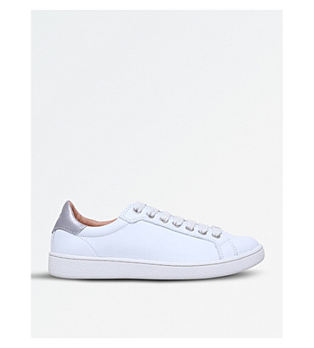 UGG Milo leather trainers (White