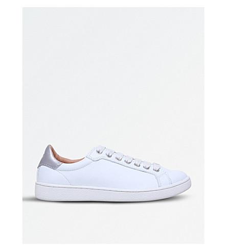 UGG米洛皮革运动鞋 (白色
