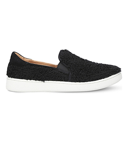 UGG Ricci textured skate shoes (Black