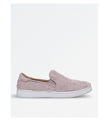 UGG Ricci textured skate shoes (Pale+pink