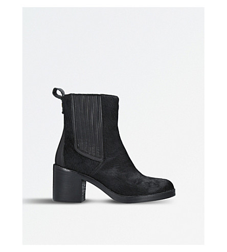 UGG Camden Exotic calf-hair leather Chelsea boots (Black