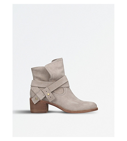 UGG Elora nubuck-leather ankle boots (Taupe