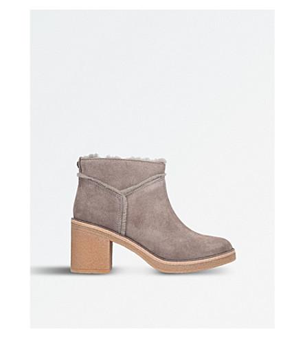 UGG Kasen suede ankle boots (Grey/dark