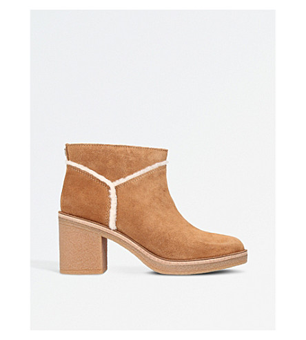 UGG Kasen suede ankle boots (Brown