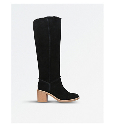 UGG Kasen suede knee-high boots (Black