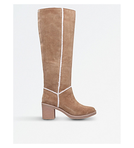 UGG Kasen suede knee-high boots (Brown