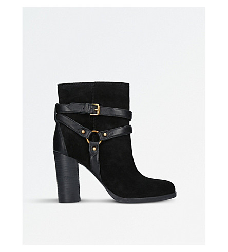 UGG Dandridge suede heeled ankle boots (Black