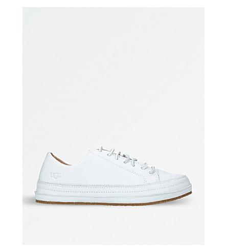 UGG Blake leather trainers (White