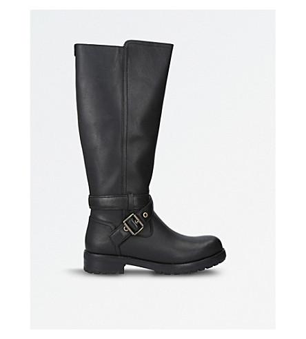 UGG Harington leather knee-high boots (Black