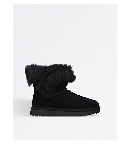 UGG Milla suede boots (Black