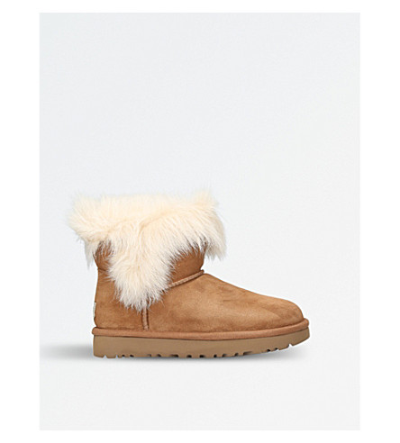 UGG Milla sheepskin boots (Brown