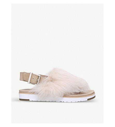 UGG Holly sheepskin sandals (Cream