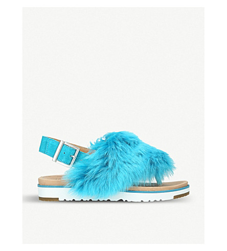 UGG Holly suede slippers (Blue