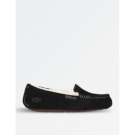 UGG Ansley moccasin slippers (Black