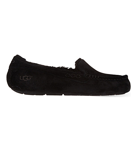 UGG Ansley suede slippers (Blk/other