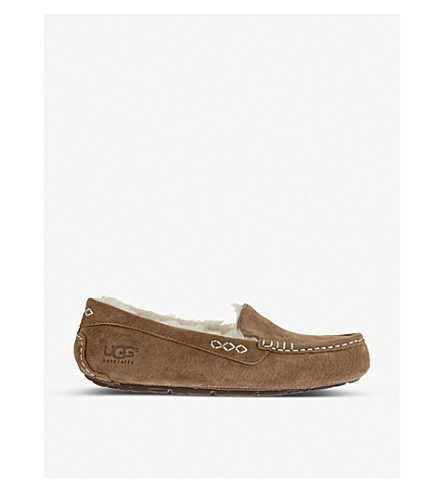 UGG Ansley suede slippers (Brown