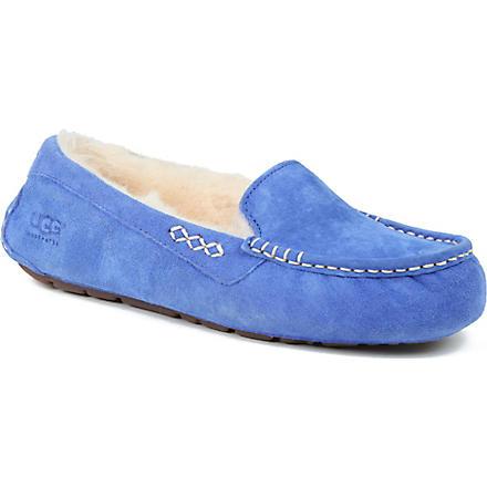 UGG Ansley suede moccassins (Blue