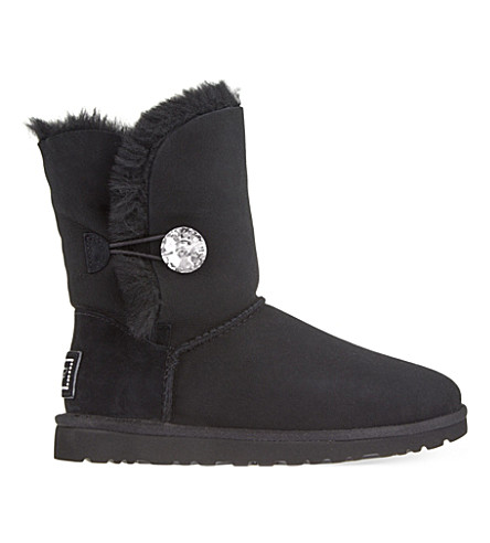 UGG Bailey Bling sheepskin boots (Black