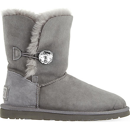 UGG Bailey Bling sheepskin boots (Grey