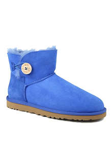 UGG Mini Bailey Button sheepskin boots