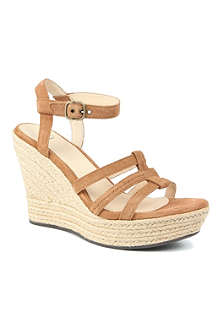 UGG Callia suede wedge sandals