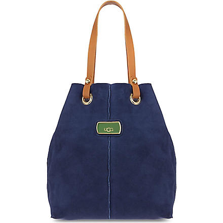 UGG Jane shearling tote (Navy