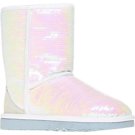 UGG Classic short Sparkles I Do sheepskin boots