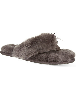 UGG Fluff sheepskin slippers