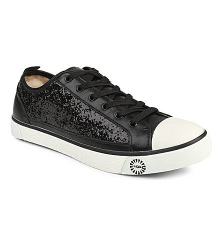 UGG Evera glitter trainers (Black