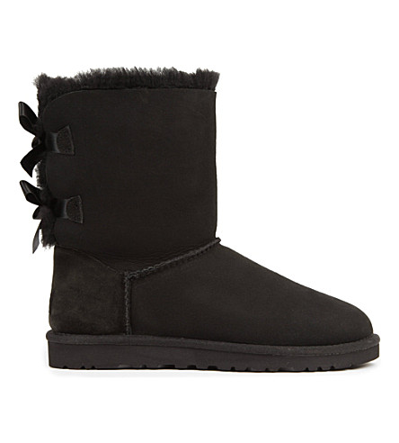 UGG Bailey Bow sheepskin boots (Black